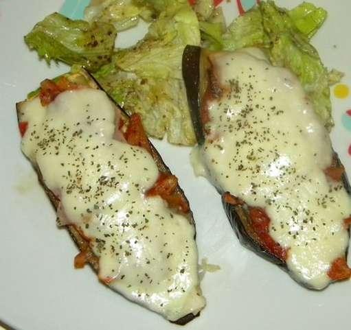 aubergines-mozarella-au-four