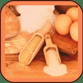 Produits divers (thés, farines, céréales, salaisons, oeufs)